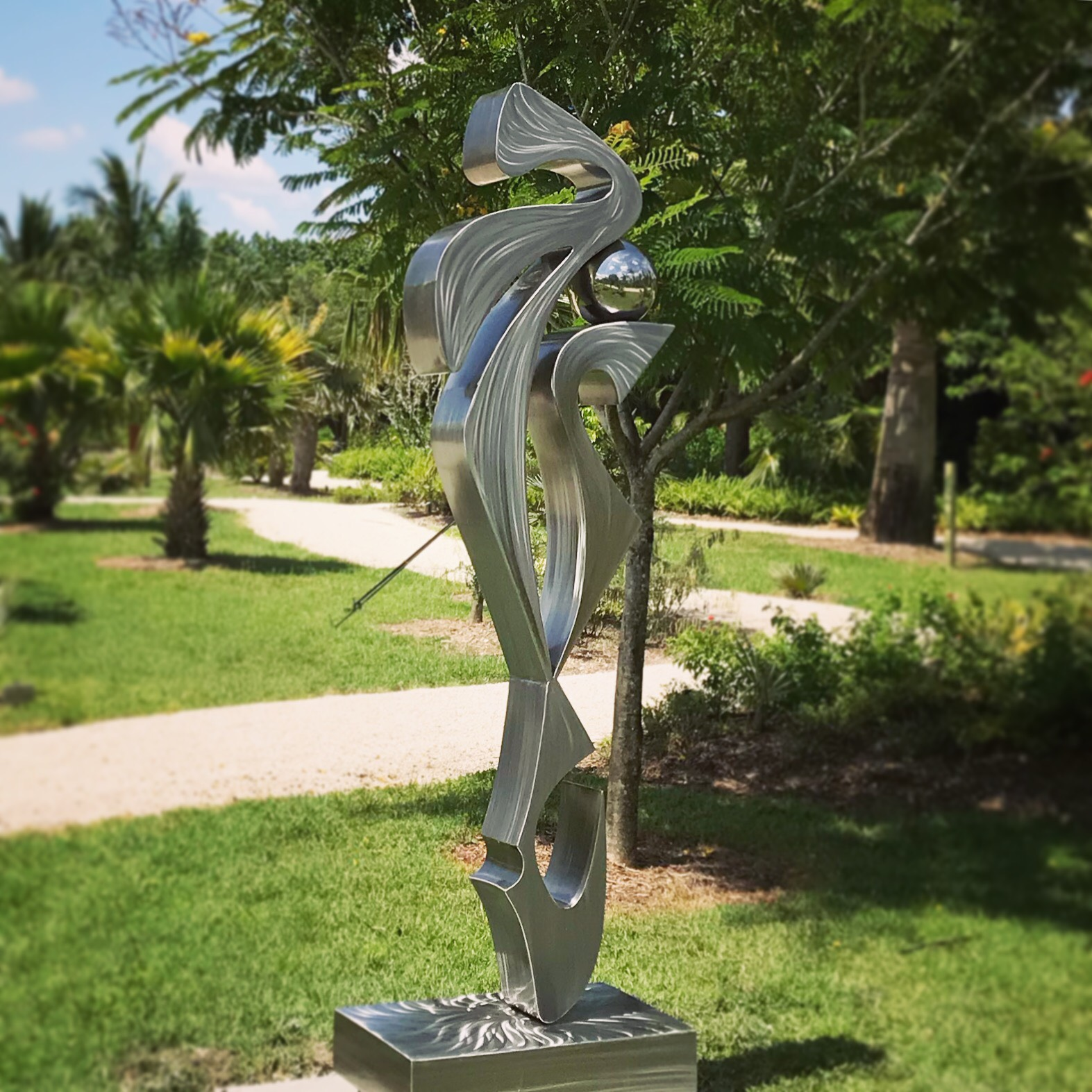 Contemporary Garden Sculpture
