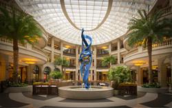 Interior Courtyard Sculpture