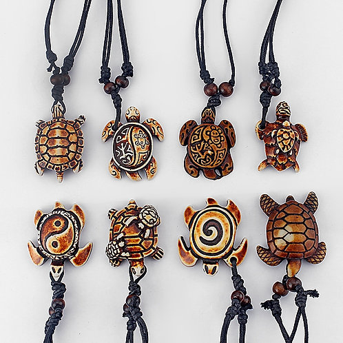 Sea Turtle Tribal Necklace
