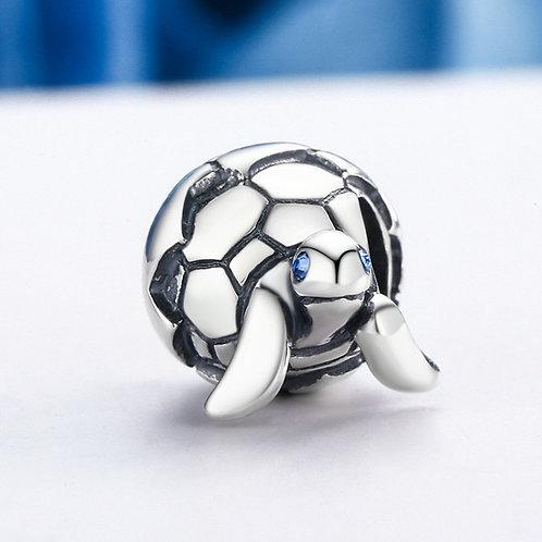 Qikaola 925 Sterling Silver Turtle Tortoise