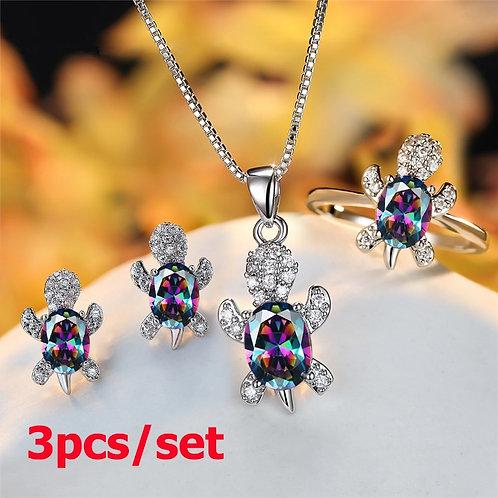 Sea Turtle Premium Jewelry Set