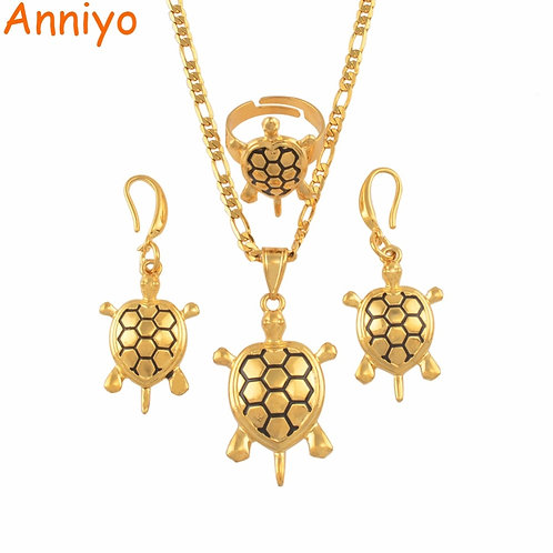 Anniyo Hawaii Turtle Tortoise Jewelry Sets