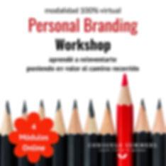 Flyer Personal Branding Workshop ONLINE