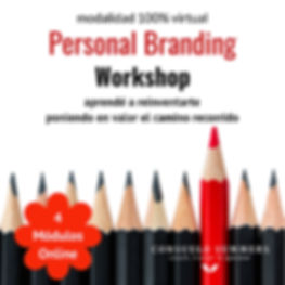 Flyer Personal Branding Workshop ONLINE