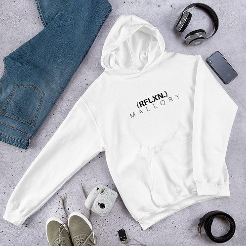 (RFLXN.) hoodie - white
