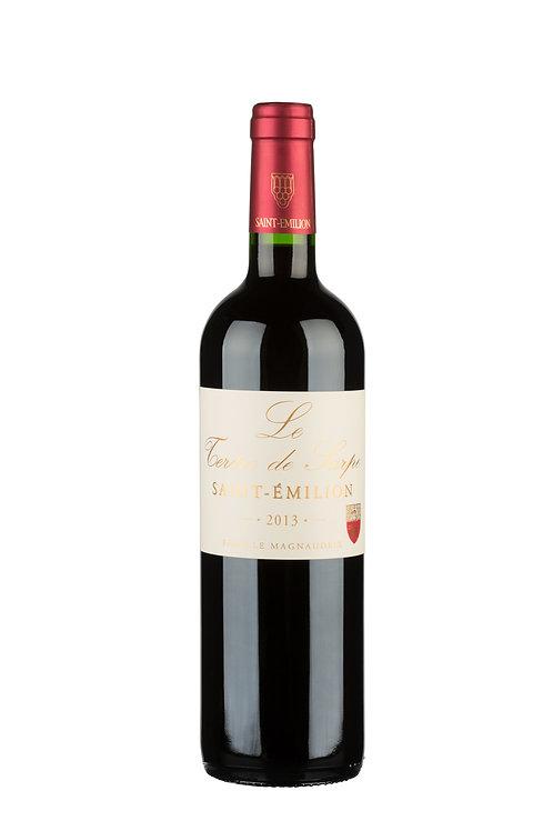 2018 Tertre de Sarpe 0,75l, Zweitwein Vieux Larmande (17€/1l)