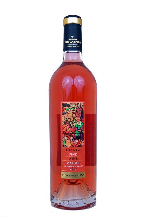 """2019 Clos Triguedina 0,75l, Cahors """"The New Pink Wine""""  (22,33€/1l)"""