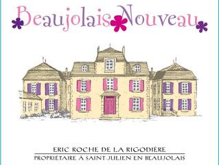 Le Beaujolais Nouveau est arrivée...