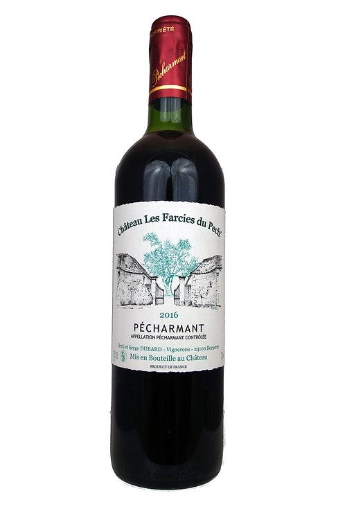 2016 Ch Les Farcies du Pech', Pécharmant 0,75l - (19,67€/1l)