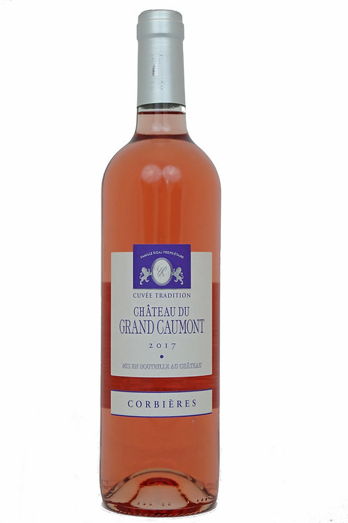 2019 Château Grand Caumont, 0,75l Rosé (10,60€/1l)