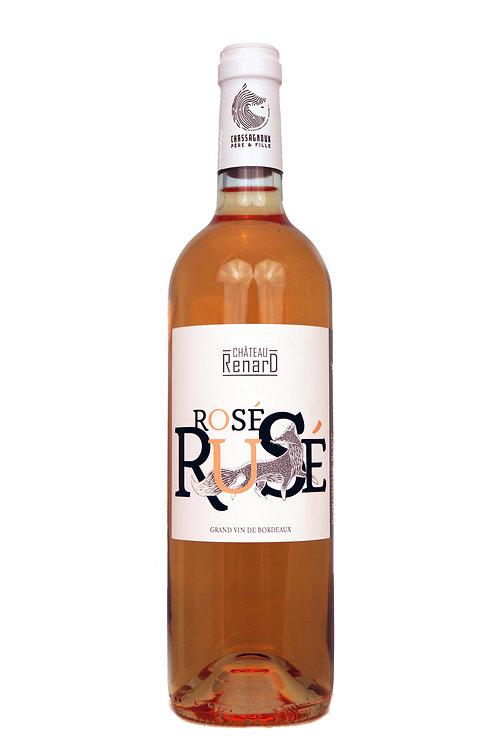 2019 Ch Renard 0,75l, Rosé Rusé, Fronsac (14,60€/1l)