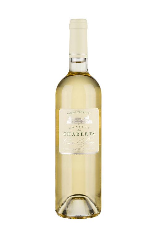 2013 Cuvée Prestige blanc sec 0,75l, Ch. des Chaberts (13,27€/1l)