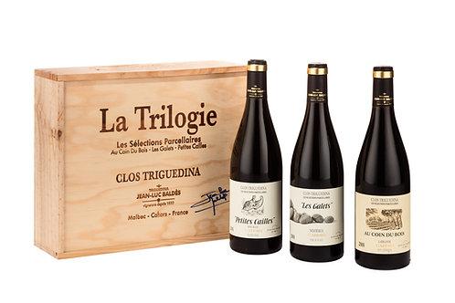 "2010 ""Trilogie"" (3 x 0,75l Malbec in handsignierter Holzkiste) (33,33€/1l)"