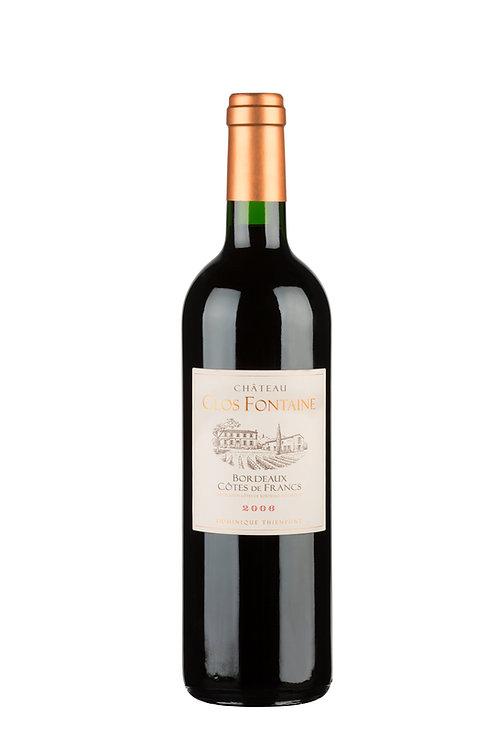 2006 Château Clos Fontaine, 0,75l - (11,93€/1l)