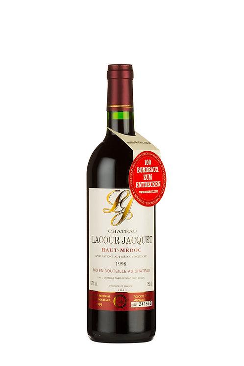 1998 Lacour Jacquet 0,75l, Goldmedaille (46,66€/1l)