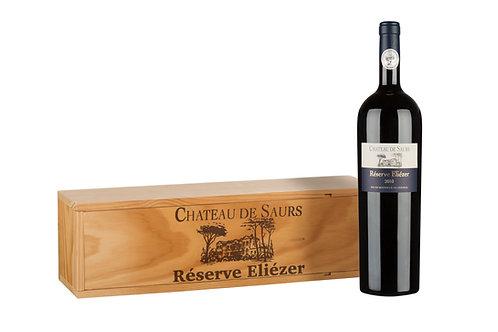2015 Res. Eliézer Spitzen-Cuvée 1,5l Magnum in Holzkiste (73,33€/1l)
