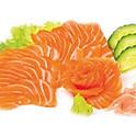 S18 - Sashimi saumon