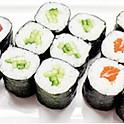S12 - Maki thon, saumon, concombre
