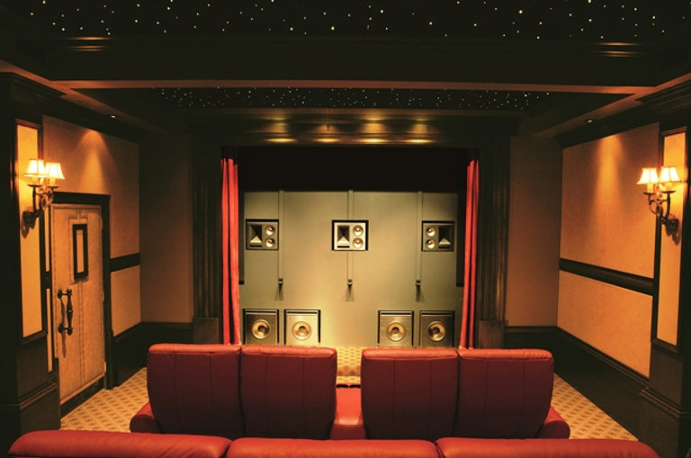 Klpisch THX Ultra, Home Cinema, Home Theatre, Home Theater, Rotel, Denon, Monitor Audio, Control 4