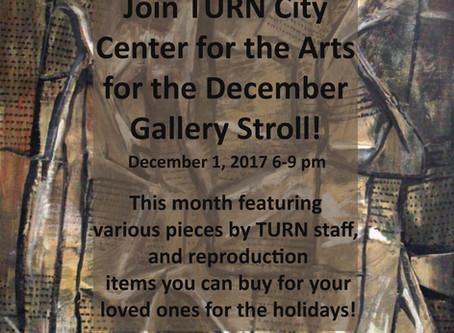 December Gallery Stroll at TCCA!