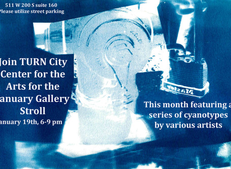 Join us for January Gallery Stroll in SLC!