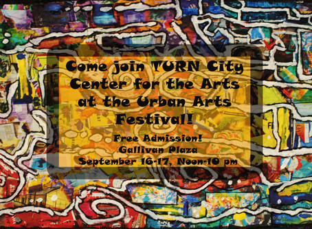 Join TURN Artists at the Urban Arts Festival!