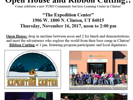 Join the Expedition Center Open House in Clinton!