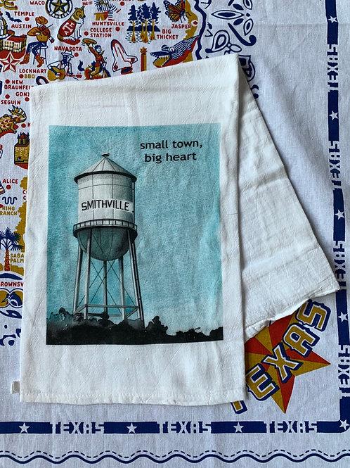 Kim Kaiser Water Tower Tea Towel