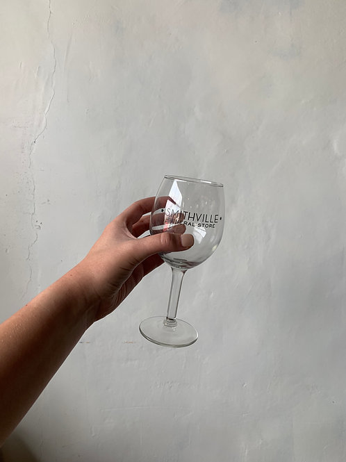 Smithville General Store Wine Glass