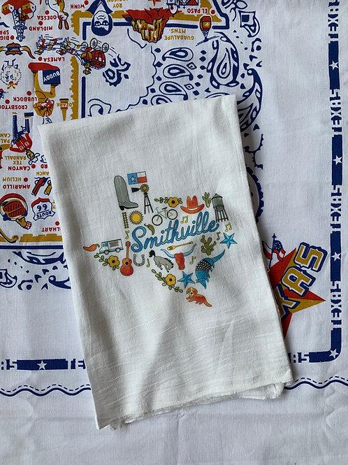 Kim Kaiser Smithville Tea Towel