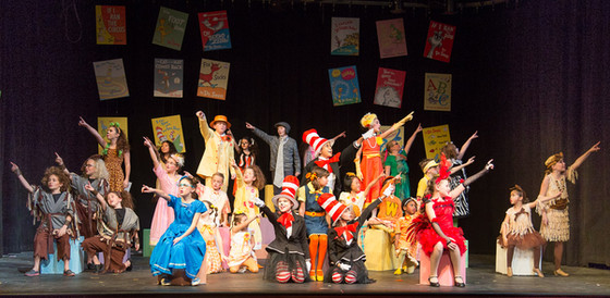 A Pilot Prouduction of Seussical Kids - December 2015
