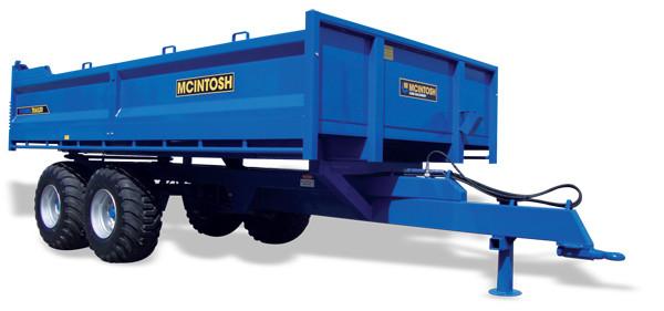 10 tonne tip trailer with steel deck