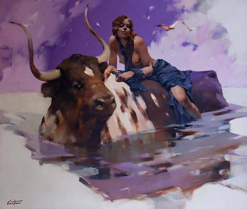 Costa Dvorezky painting