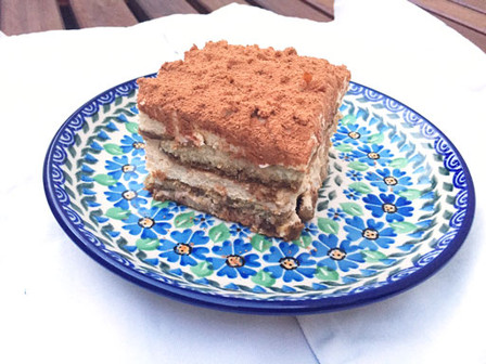 Traditional tiramisù