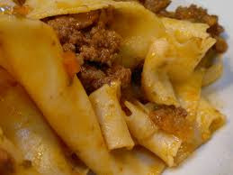 Pappardelle al cinghiale, typical Tuscan cuisine