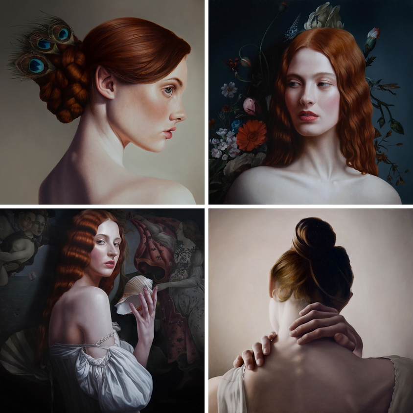 Portrait Painting with Mary Jane Ansell