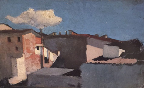 Roofs in the Sunlight, Raffaello Sernesi