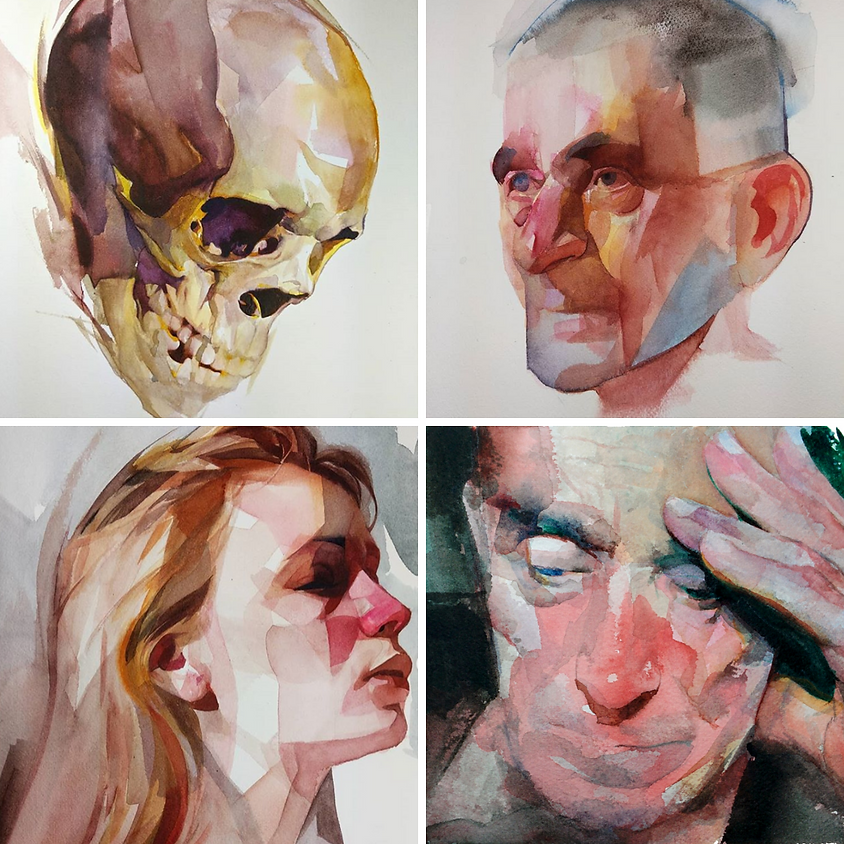 Portrait Painting in Watercolour with Nick Runge
