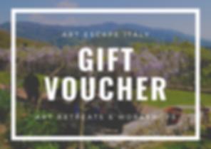 Art Holiday Gift Voucher