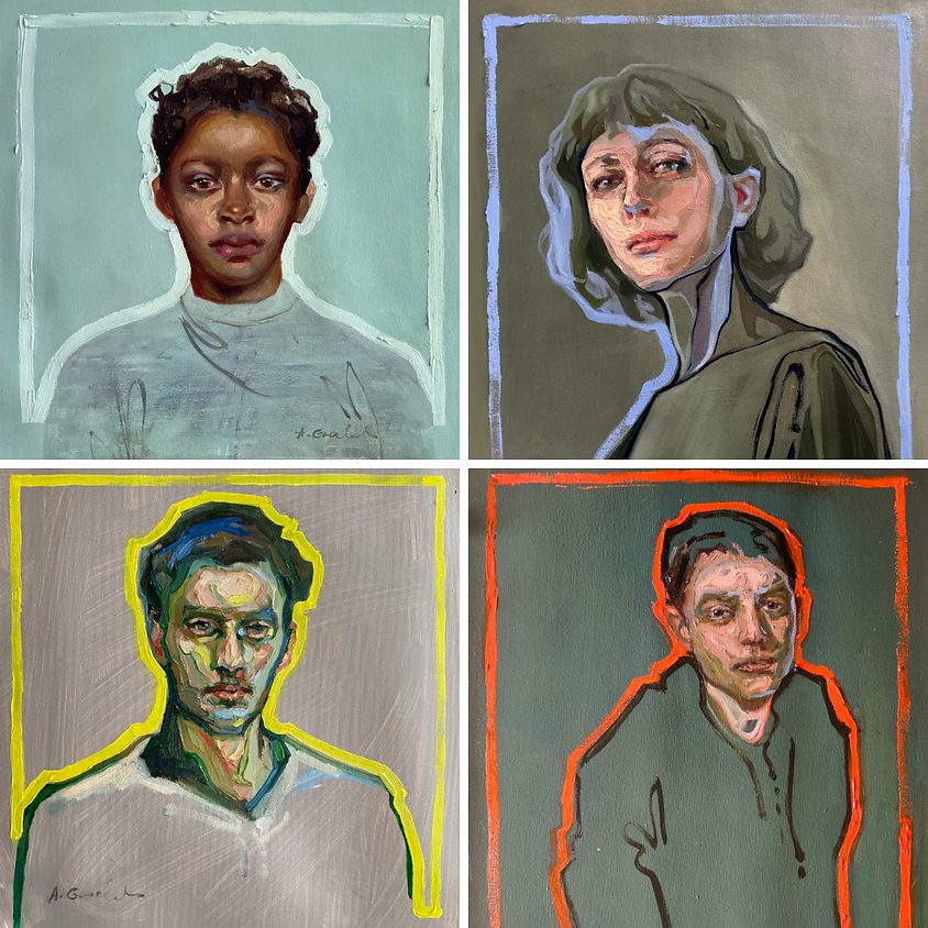 Line & Colour - Portrait Painting in Oil with Agnes Grochulska