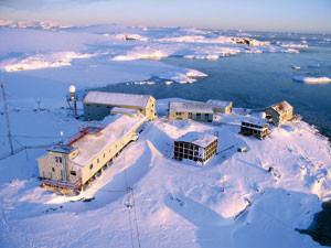 The Ukranian Science Station, Antarctica