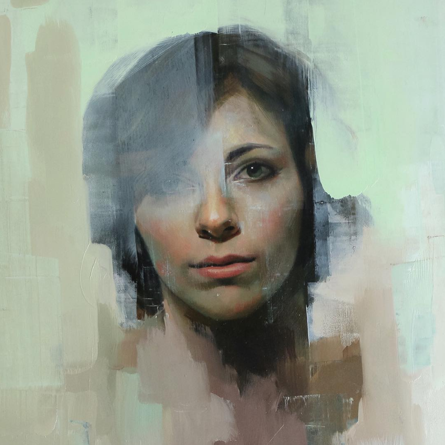 Oil painting by Alpay Efe