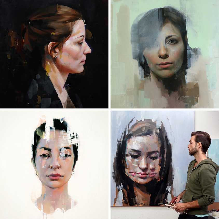 Portrait Painting with Alpay Efe