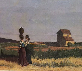 Women Carrying Water at Ardenza near Livorno, Giovanni Fattori