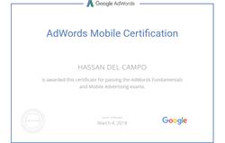 Google AdWords Mobile Advertising Certification