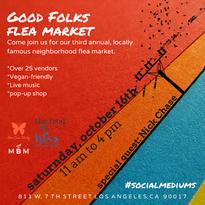 SLAC: Flea Market flyer