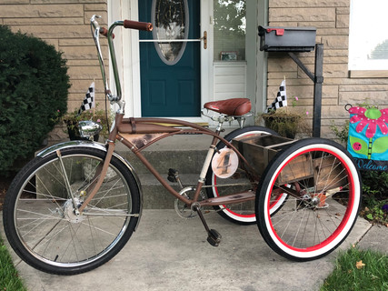 Big Ron's 1950 Joannou Custom Trike Conversion