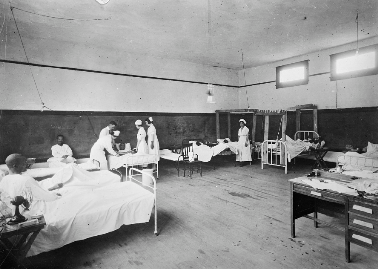 Red Cross ward
