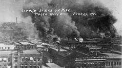 Greenwood burning.