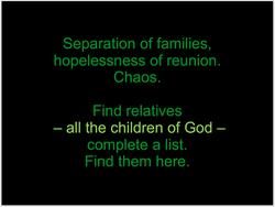Children of God Found Poetry